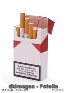Nikotin – Abschreckung auf Zigarettenpackungen kann funktionieren