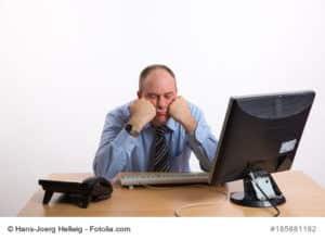 Arbeiten mit krankhafter Unlust