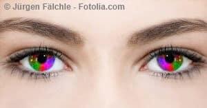 Farbige Kontaktlinsen – ungesund oder unproblematisch?