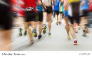 Viele Läufer