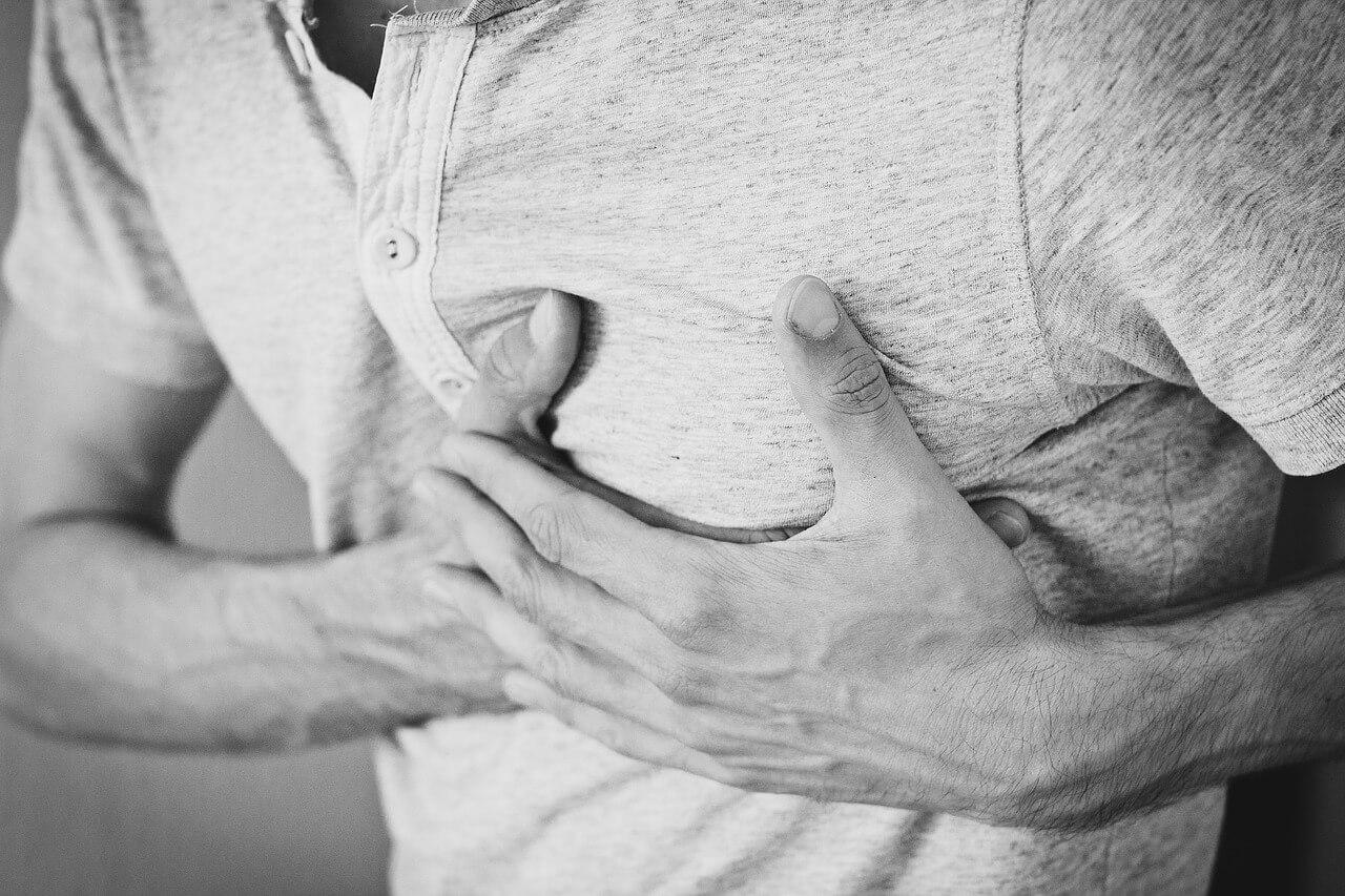 Stechen im Herz (Herzstechen)