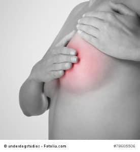 Die Massage für die Erhöhung der Brust der Büste