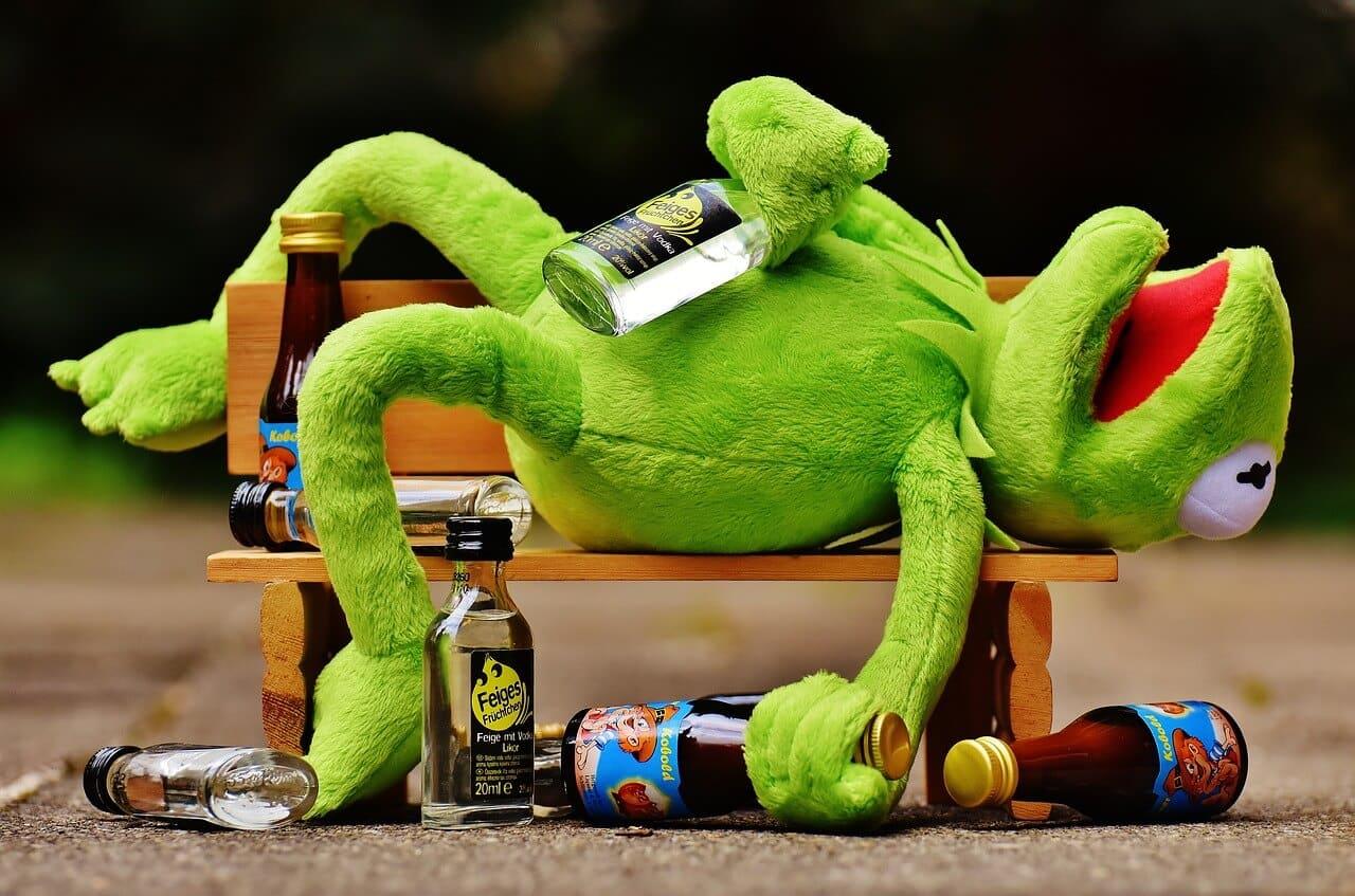 Magenschmerzen nach Alkohol