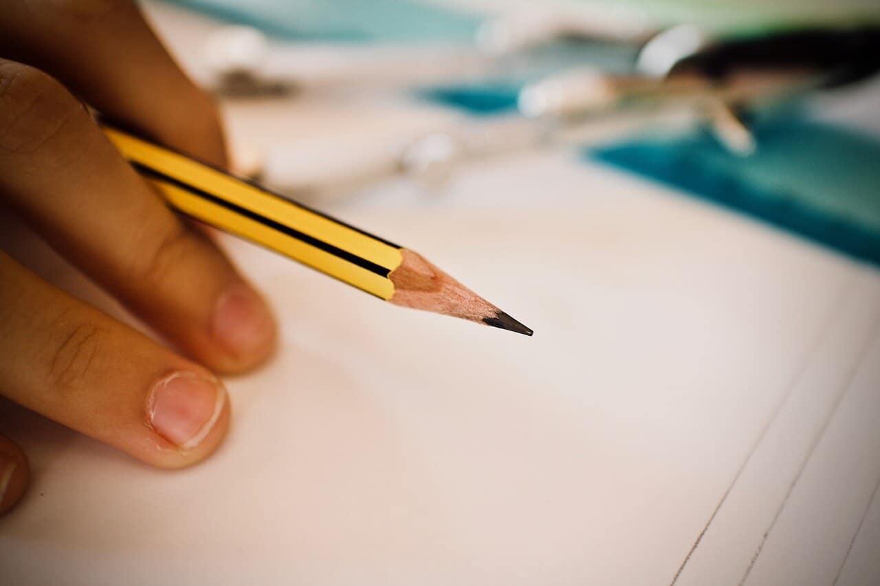 Bleistiftstuhl