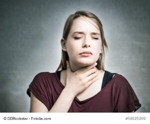 Trockener Hals – Ursachen und Gegenmittel